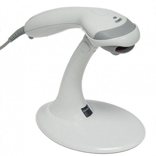 Cititor coduri de bare Honeywell Voyager MK9520, USB, stand, alb