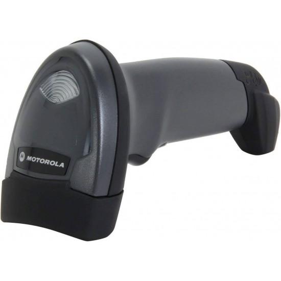 Cititor coduri de bare Motorola Symbol LI2208, USB, stand, negru