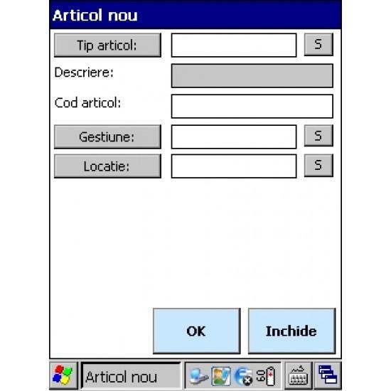 Rosistem Assets - Software de gestionare a mijloacelor fixe si a obiectelor de inventar pentru terminale mobile
