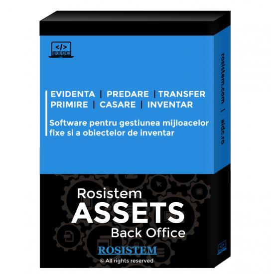 Rosistem Assets - Software de gestionare a mijloacelor fixe si a obiectelor de inventar pentru calculator