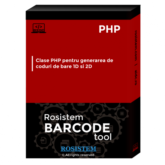 Rosistem Barcode PHP