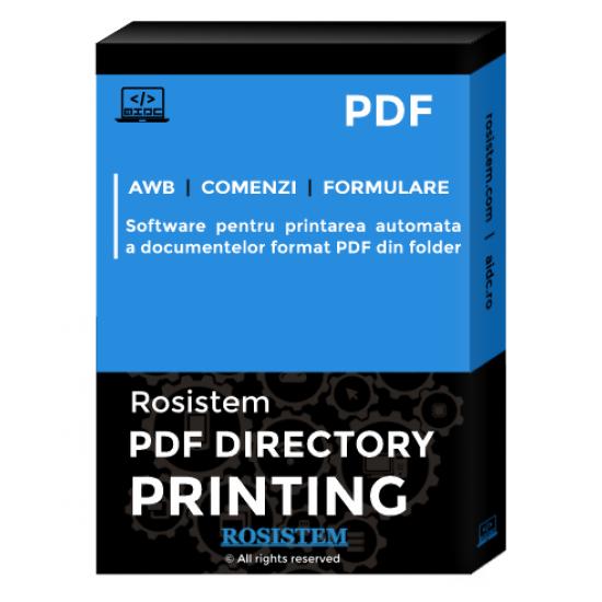 Rosistem PDF Directory Printing - aplicatie de printare automata a PDF-urilor din folder