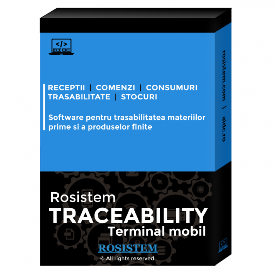 Rosistem Traceability - Software pentru trasabilitatea materiilor prime si a produselor finite pentru terminale mobile