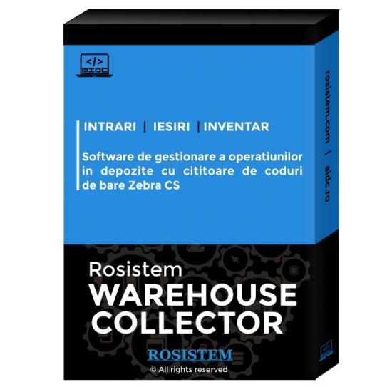 Rosistem Warehouse Collector - Software de gestionare a operatiunilor in depozite cu cititoare de coduri de bare