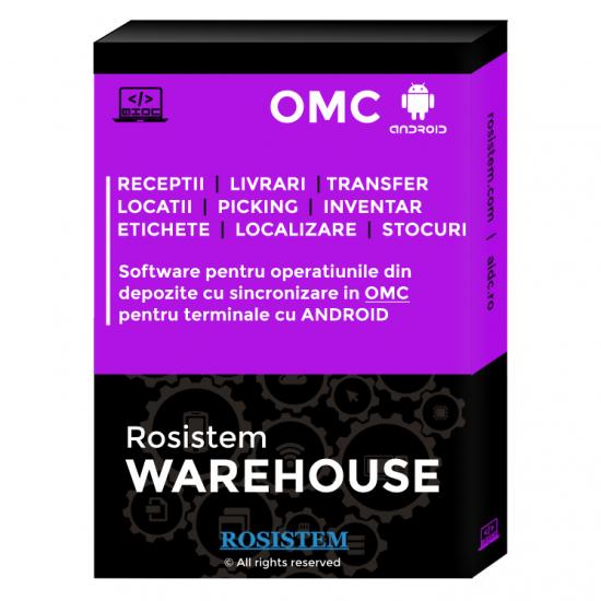 Rosistem Warehouse OMC Android - Software pentru depozite cu sincronizare in OMC