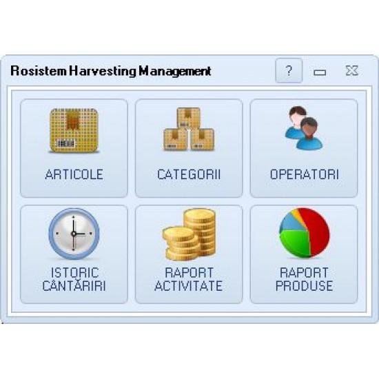 Rosistem Harvesting Management - Software pentru gestionarea recoltarii de fructe si legume cu zilieri