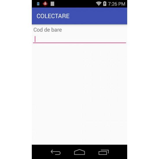 Rosistem Mobile Collector Android - contorizare numar de scanari pe terminalele mobile