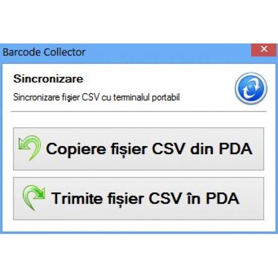 Rosistem Mobile Collector WinCE - contorizare numar de scanari pe terminalele mobile