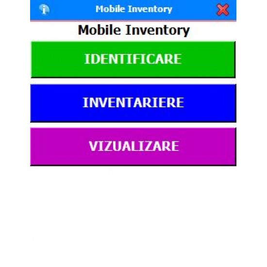 Rosistem Mobile Inventory - Software de inventariere pentru terminale mobile