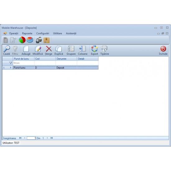 Rosistem Mobile Warehouse - Software de gestionare a operatiunilor in depozite pentru calculator