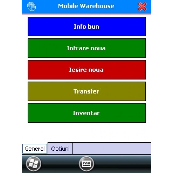 opțiuni terminale