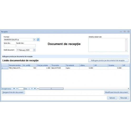 Rosistem Traceability - Software pentru trasabilitatea materiilor prime si a produselor finite pentru calculator