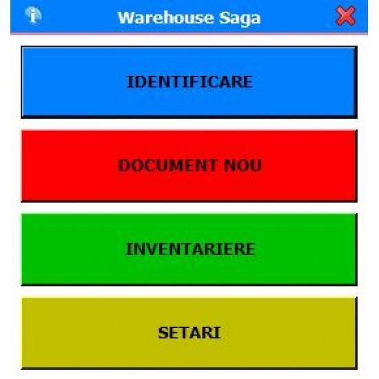 Rosistem Warehouse Saga - Software pentru operatiunile din depozite cu sincronizare in Saga
