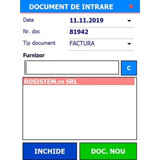 Rosistem Warehouse WinMentor - Software pentru operatiunile din depozite cu sincronizare in WinMentor